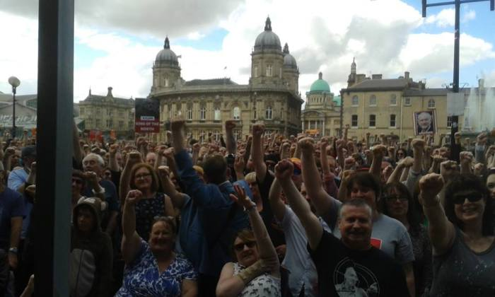 Corbyn Rally 10