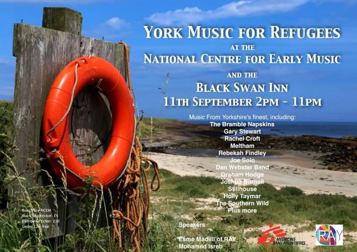 York Music For Refugees