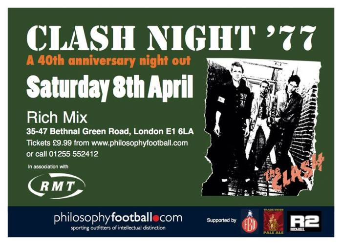 London Clash Gig