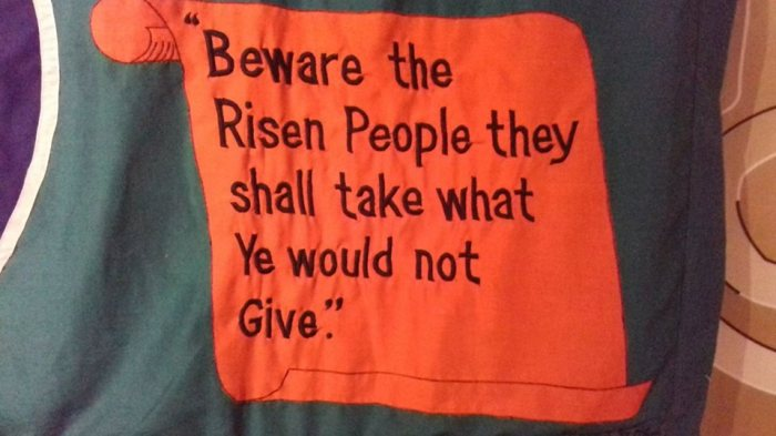 Beware The Risen People