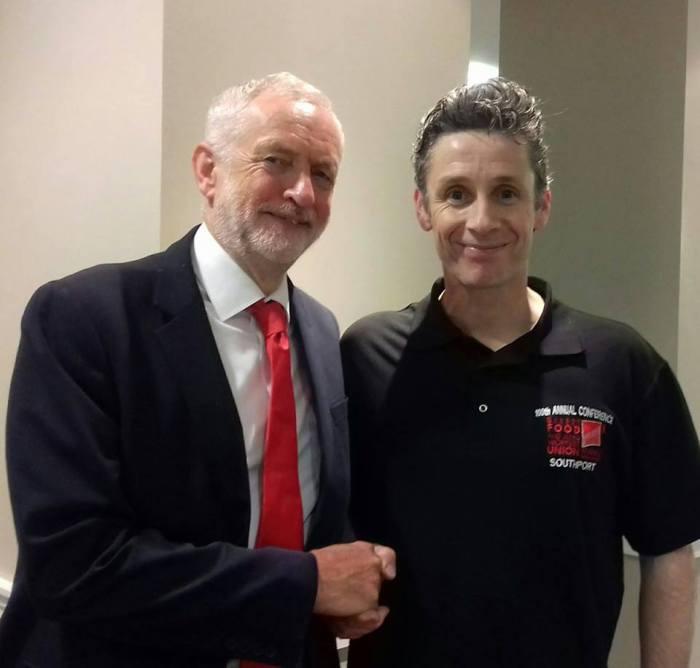 Joe and Corbyn BFAWU 2018