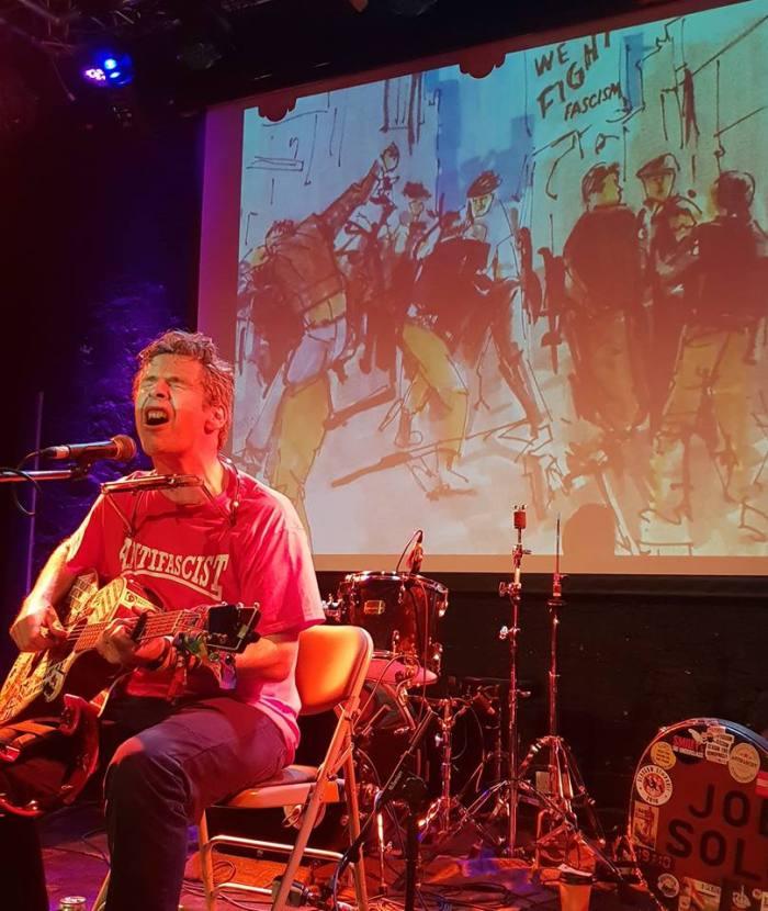 Stockton on stage