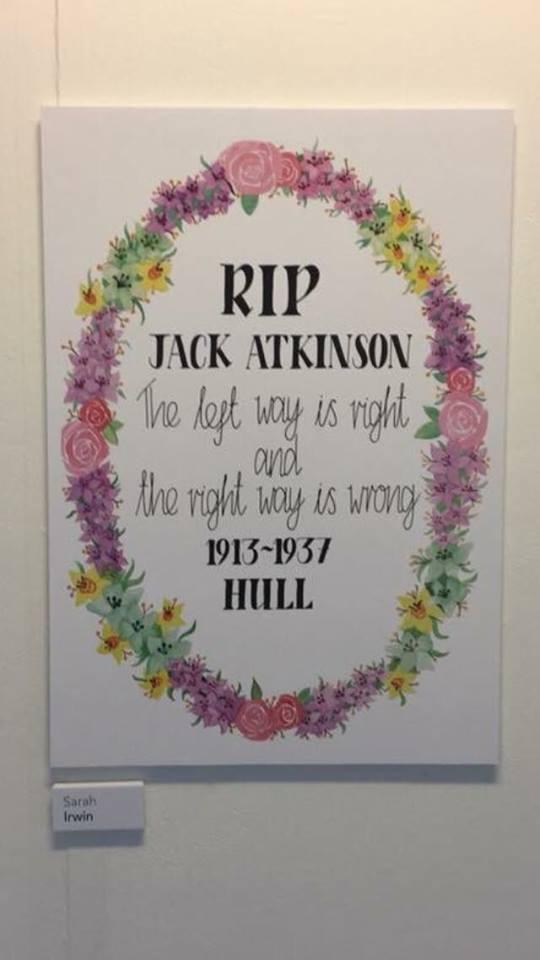 Jack Atkinson Tribute artwork