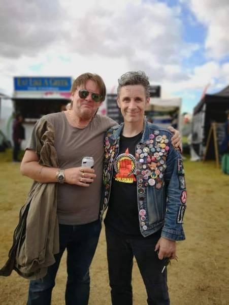 With Ian Hodson