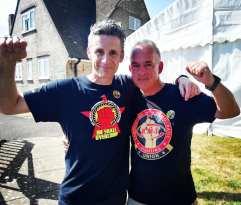 With Sean Hoyle