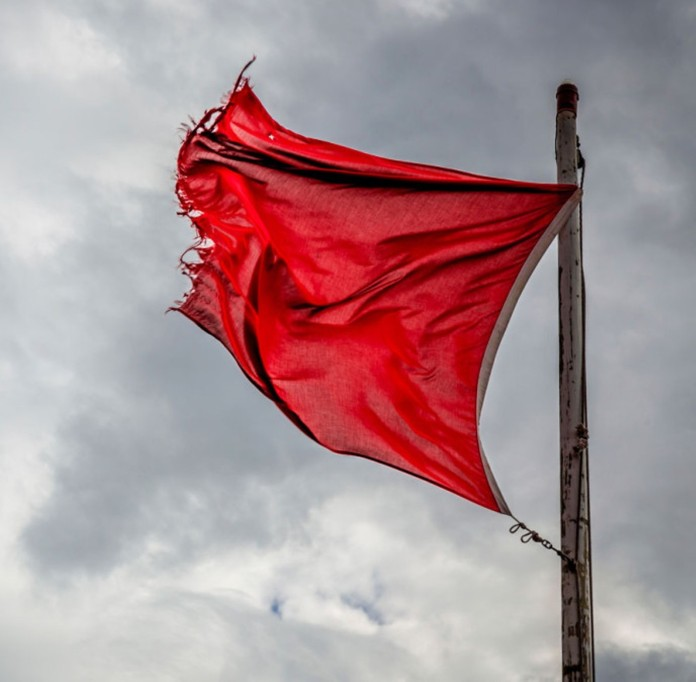 Red Flag tatters