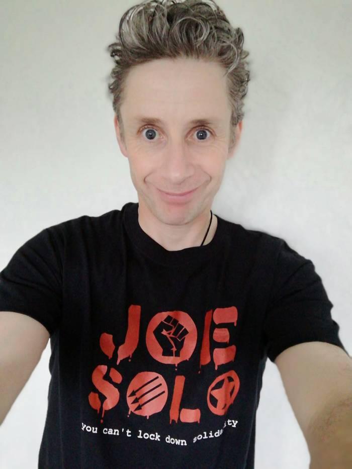 Joe in t-shirt 2020